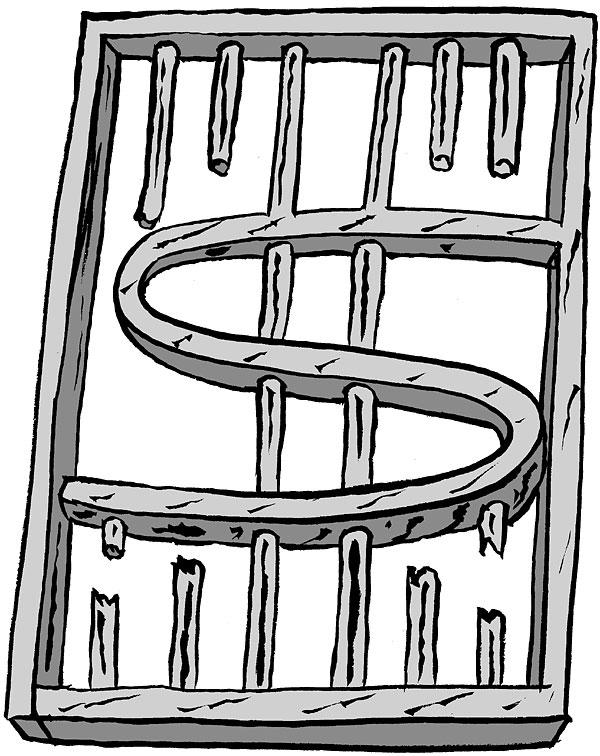 prisons cost a heap of money and are a massive financial burden