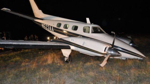 Cannabis smuggling plane